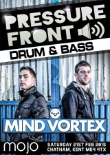Mind Vortex & Five Alive – 21st February 2015
