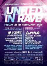 United In Rave – 26th Feb 2016